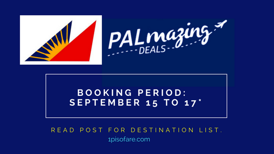 Philippine Airlines Promos September 2017
