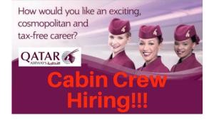 Qatar Airways HIRING Female Cabin Crew in Manila