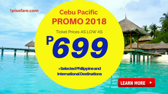 cebu pacific promos june, august, september 2018