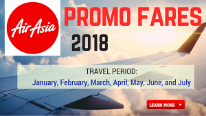 Air Asia Promo Fare 2018 Manila, Boracay, Cebu, Tacloban, Palawan, Davao OTHERS