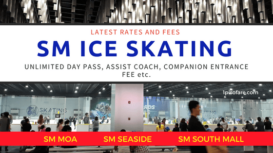 SM SKATING rates entrance fee