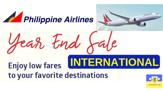 pal promos year end seat sale
