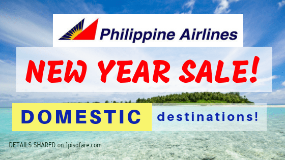 Philippine Airlines new year sale domestic