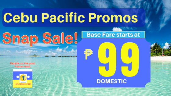 99 promo cebu pacific april 10