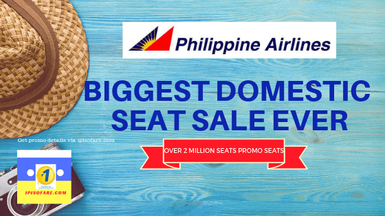 PAL BIGGEST DOMESTIC SEAT SALE EVER
