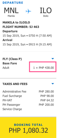 manila to iloilo promo cebu pacific september 2019