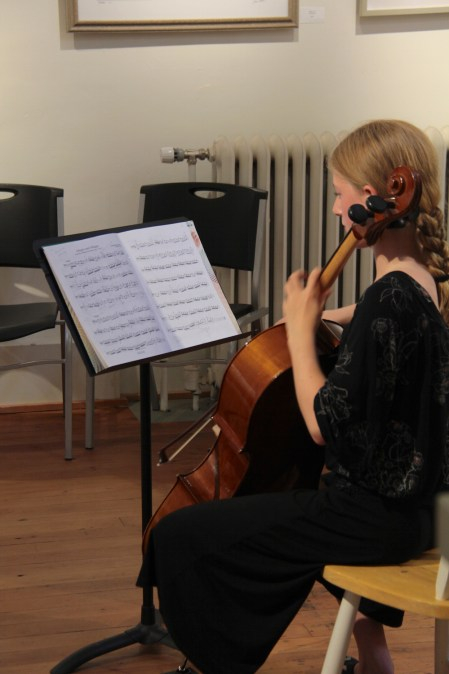 We love having music at our openings