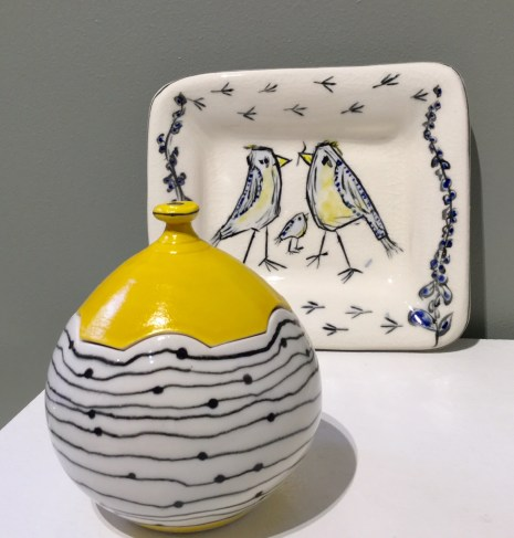Gregg Edelen Bird Family & Covered Vessel
