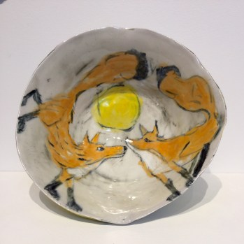 Trudy Skari Two Foxes Bowl