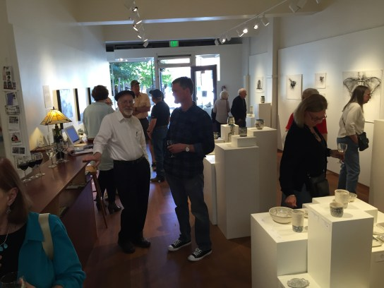 B&W+1 Gallery Opening