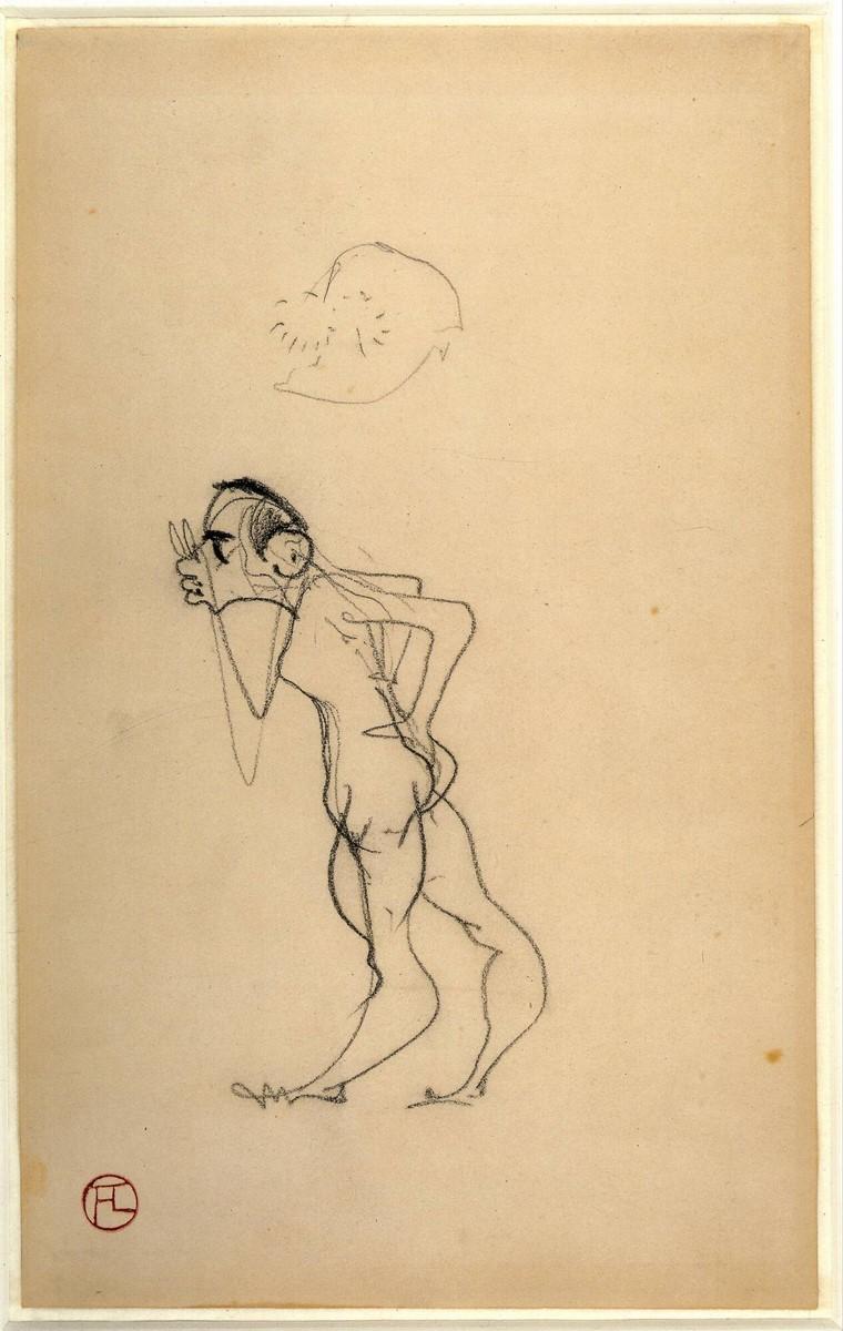Toulouse Lautrec, Self Portrait