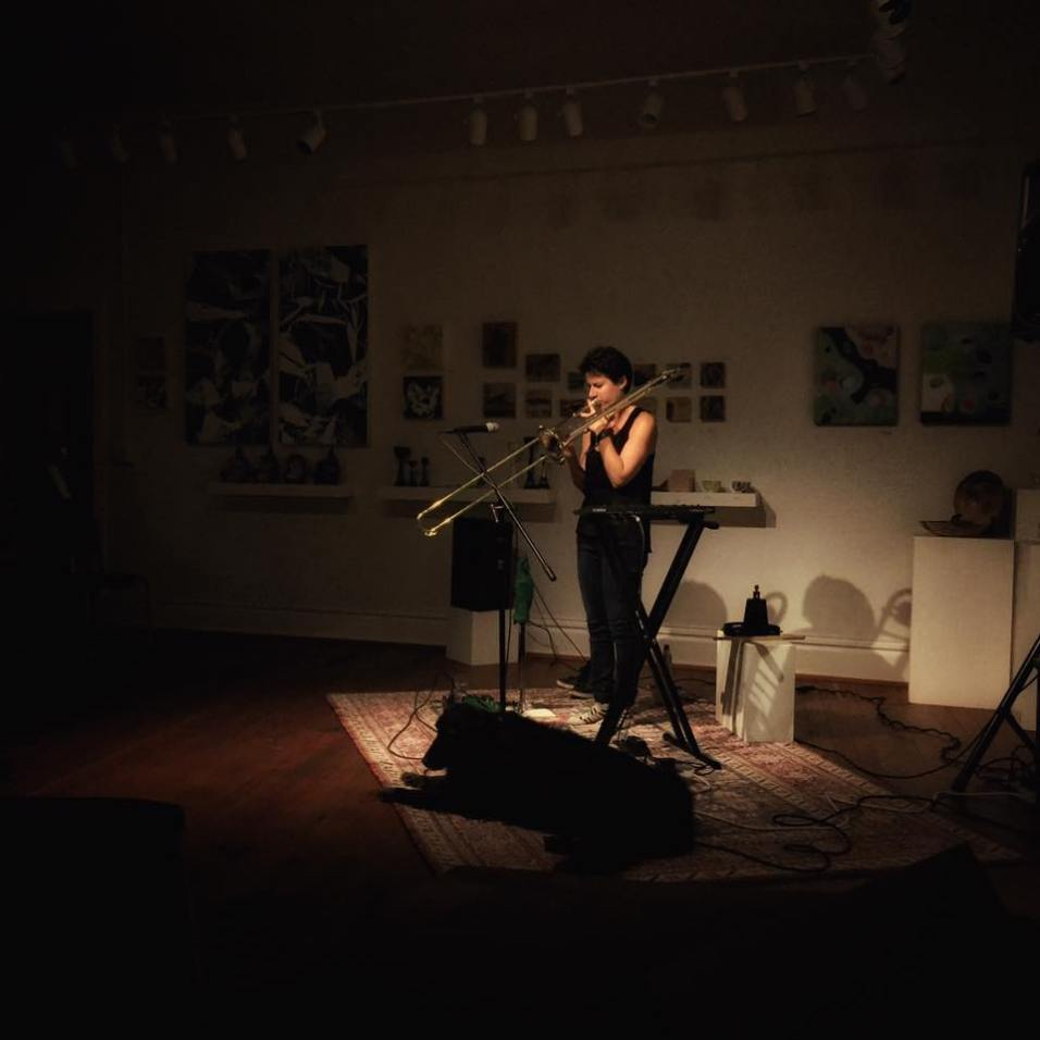 Naomi Moon Siegel at Sound Gallery 2016