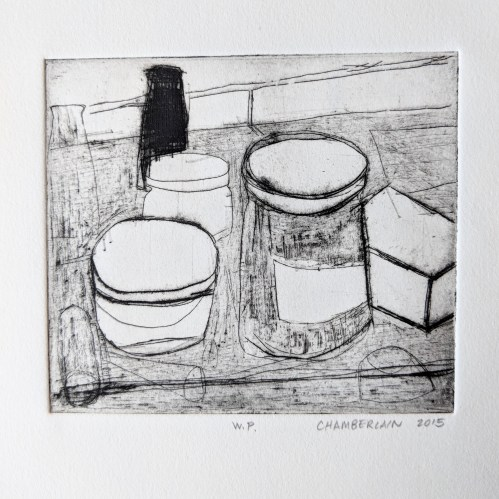 Drypoint by Eric Chamberlain