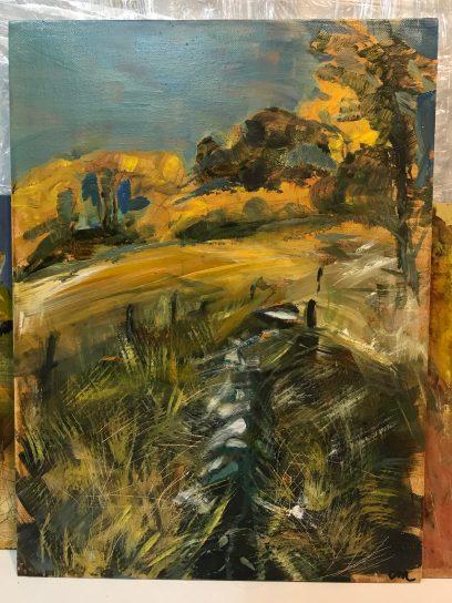 Carol Montgomery, Oil