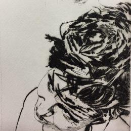 Drypoint Self Portrait