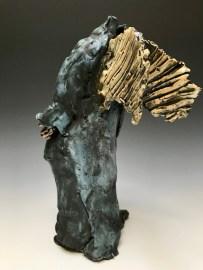 Vessel Trudy Skari Winged Figure