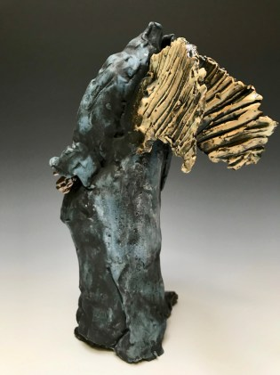Vessel Trudy Skari Winged Figure