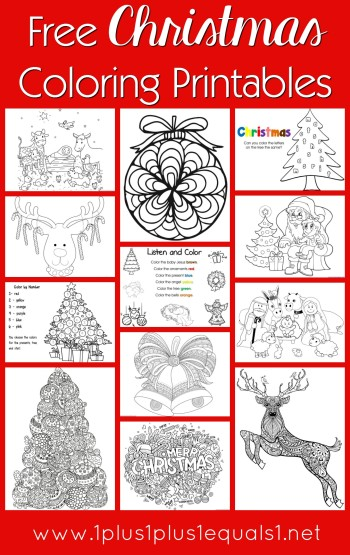 christmas coloring pages printable free # 21