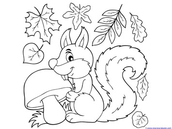 fall coloring pages printable free # 17
