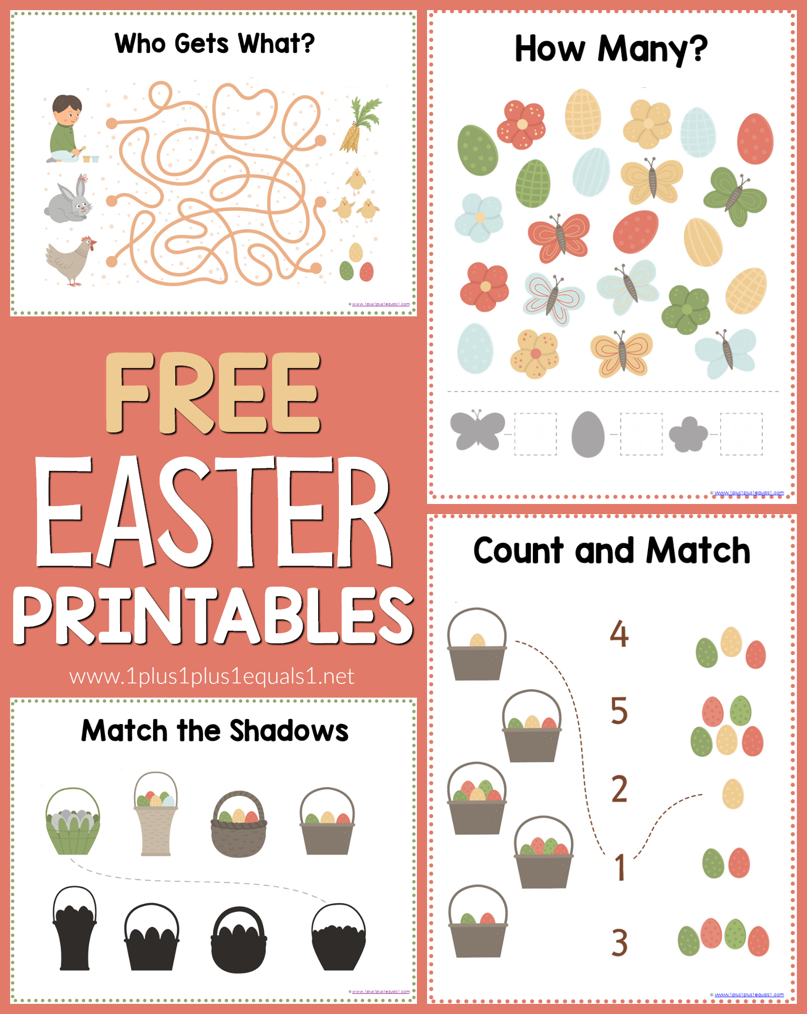 Easter Worksheets For Kids