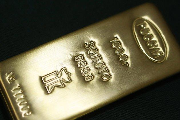 Килограммовый слиток золота высшей пробы
