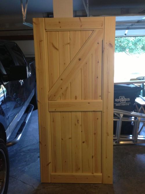 Фото самодельные деревянные двери