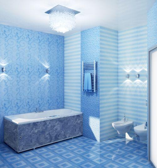 Пластиковые влагостойкие панели из ПВХ для ванной комнаты ...