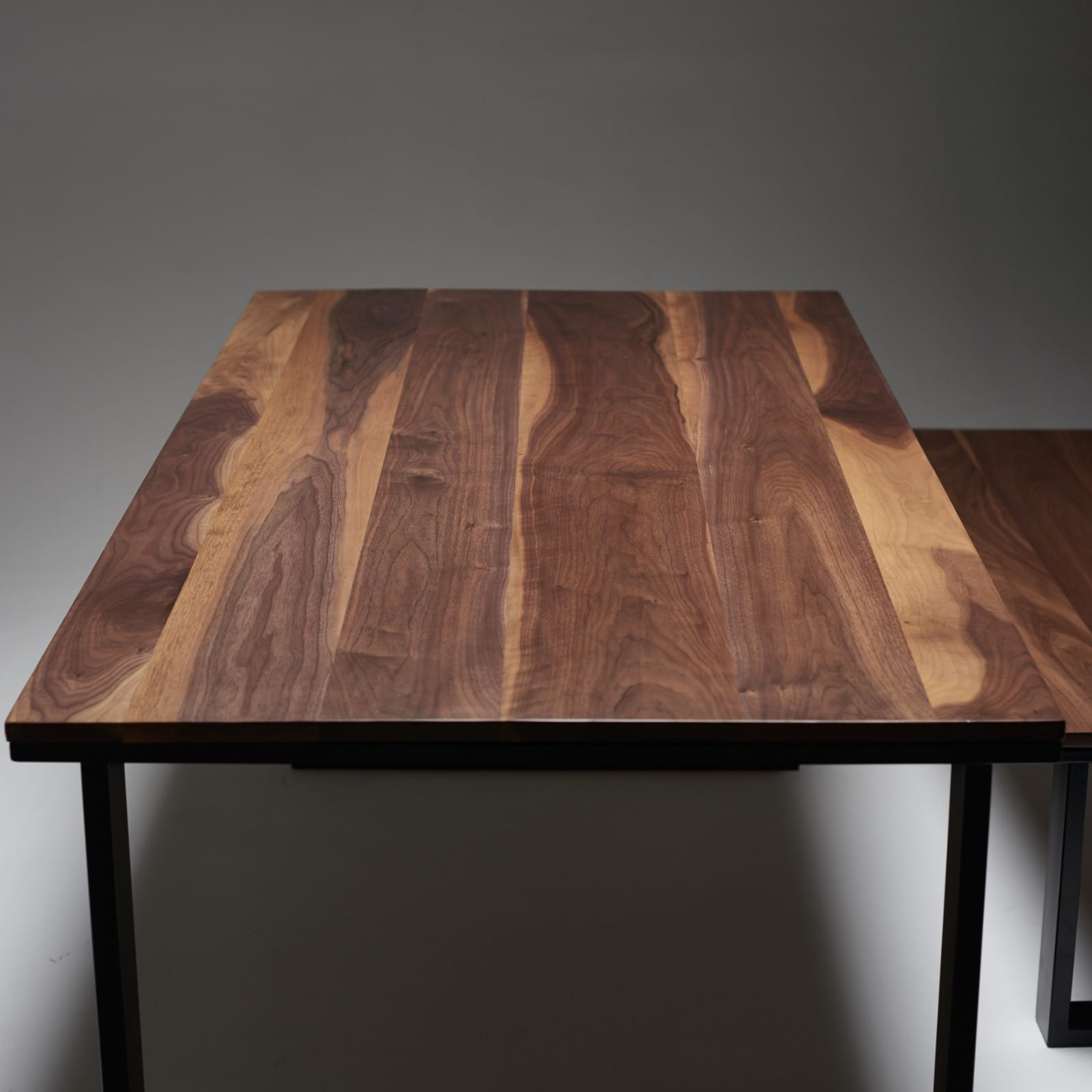 Black Walnut Dining Table Wicked Hairpins