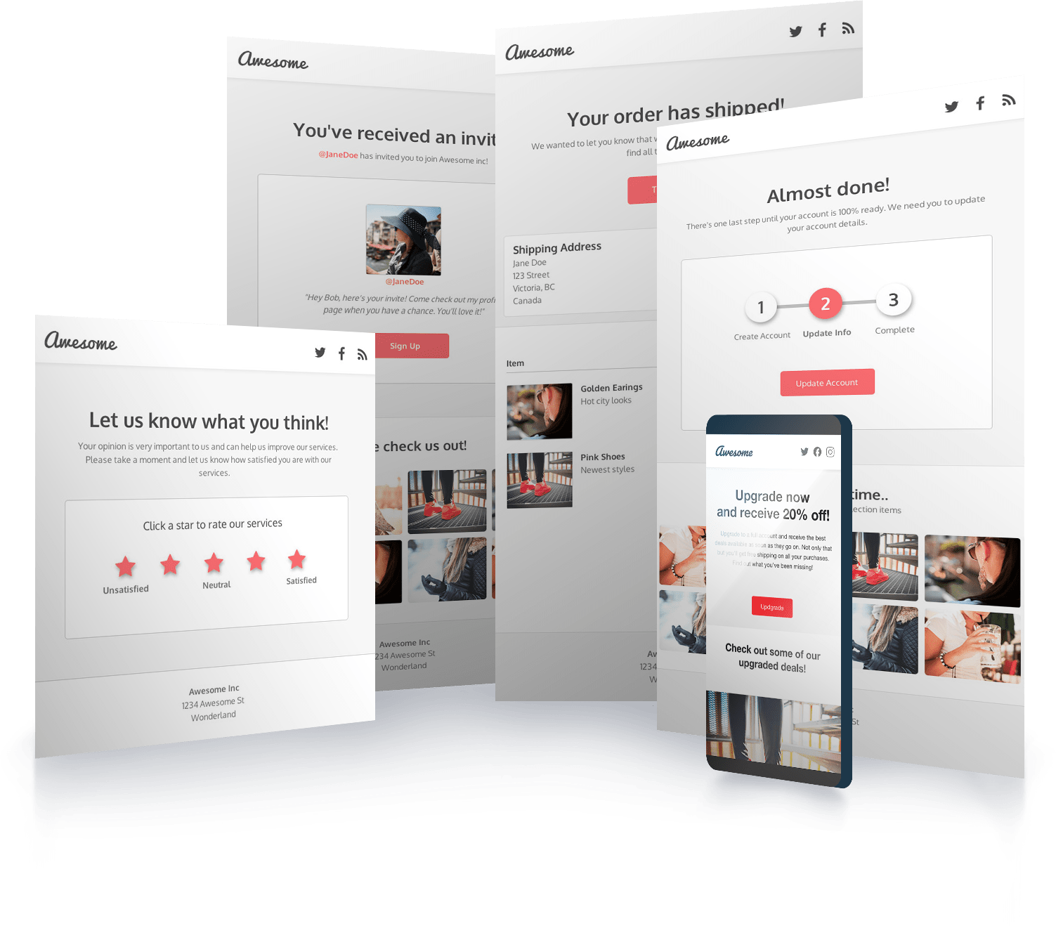 Using an html email template allows you to create beautiful responsive design emails without the frustration of writing all the code. Create Html Email Templates Code Free Design Dyspatch