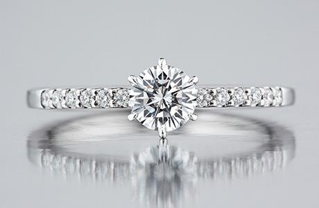 ロイヤルアッシャー、婚約指輪、エンゲージリング、688のモデル、ダイヤモンドリング