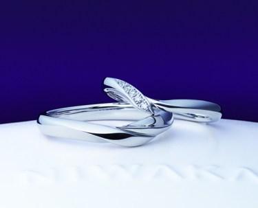 初桜のコンセプトにグッときました!俄の結婚指輪をご成約。新潟市Y様・A様