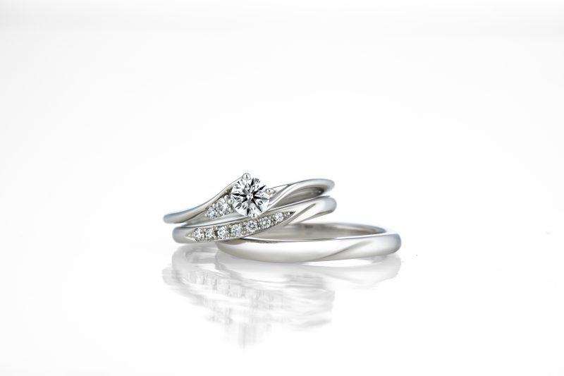 ラザールダイヤモンド セットリング