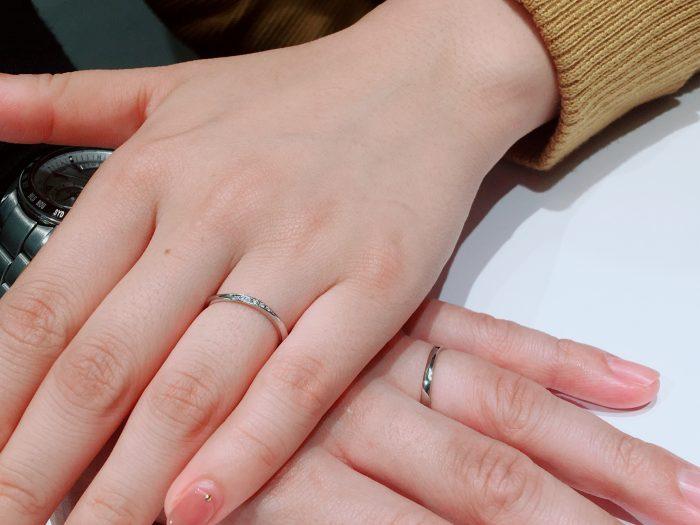 LUCIEの結婚指輪「リファ―ジュ」