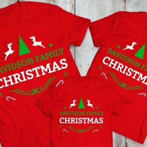 family name Xmas Shirt