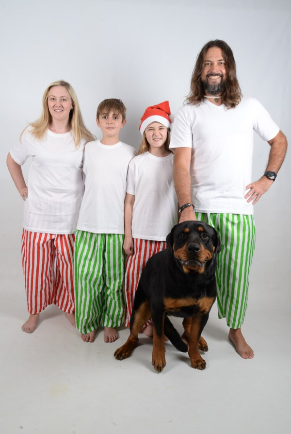 Green, Red and White Stripes Jammies 10