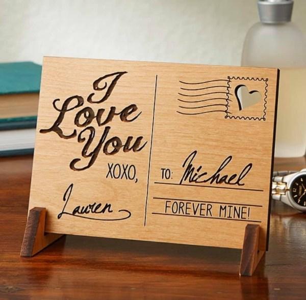 Post Card Wood