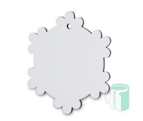 Snowflake Ornament Hardboard