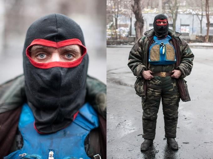 "Series ""Maidan's eyes"""