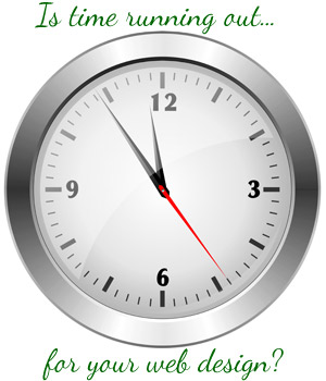 website-design-clock