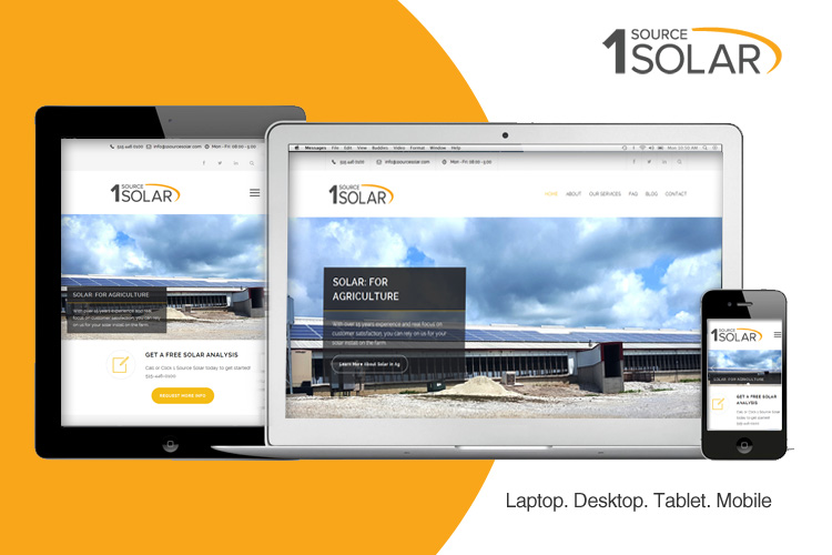 1 Source Solar Launches New Website