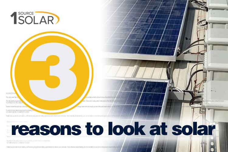 3 Reasons Businesses Should Look at Solar Power