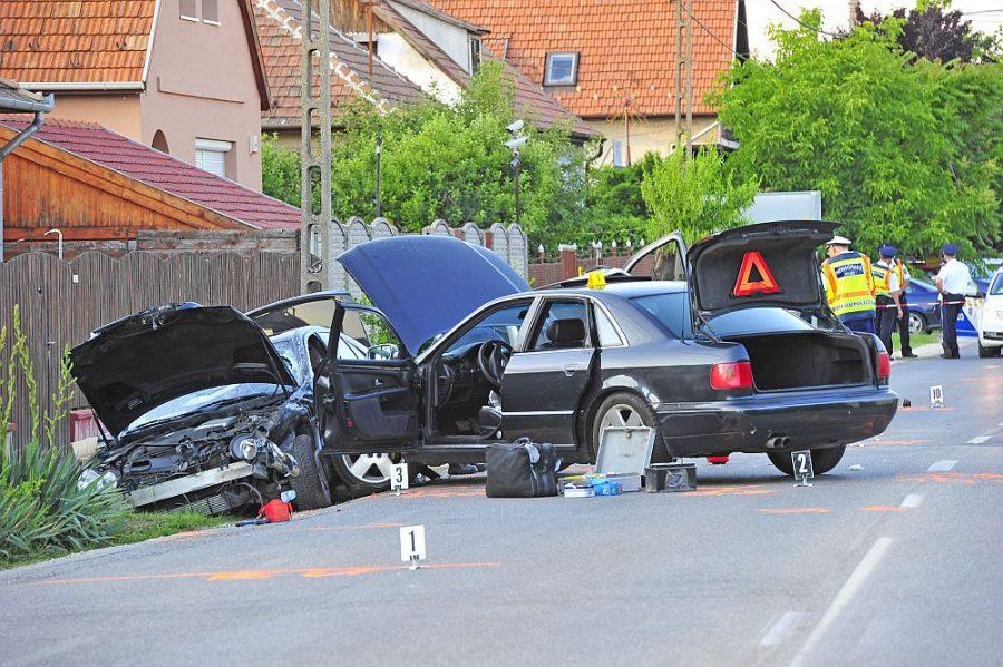 Verekedés tört ki Gyálon egy közlekedési baleset után