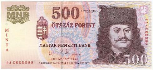 Az új ötszáz forintos bankjegyek kibocsátásával véget ért az MNB bankjegycsereprogramja.