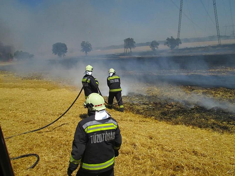 Zajlik az aratás – előzzük meg a mezőgazdaságot érintő tüzeket!