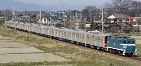 【東武】50050系51065F秩父線内の輸送