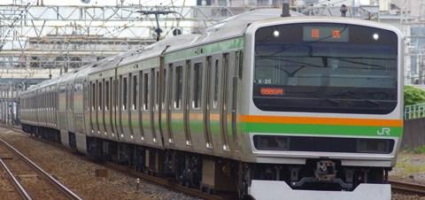 【JR東】E231系K25編成TK出場