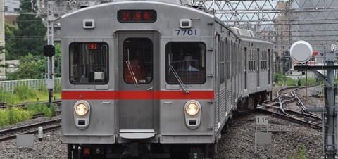 【東急】7700系7901F試運転