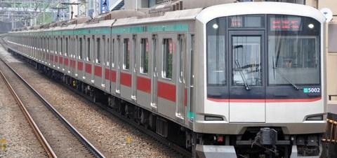 【東急】5000系5102F性能確認試運転