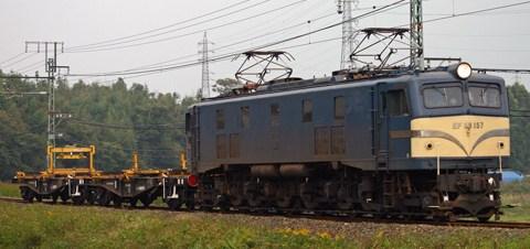 【JR海】EF58 157牽引の飯田線工臨