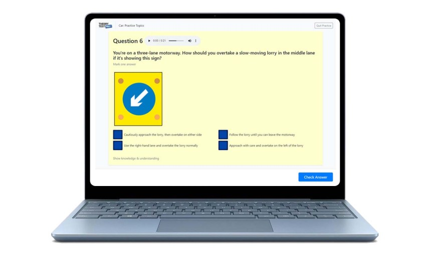 theory test practice software